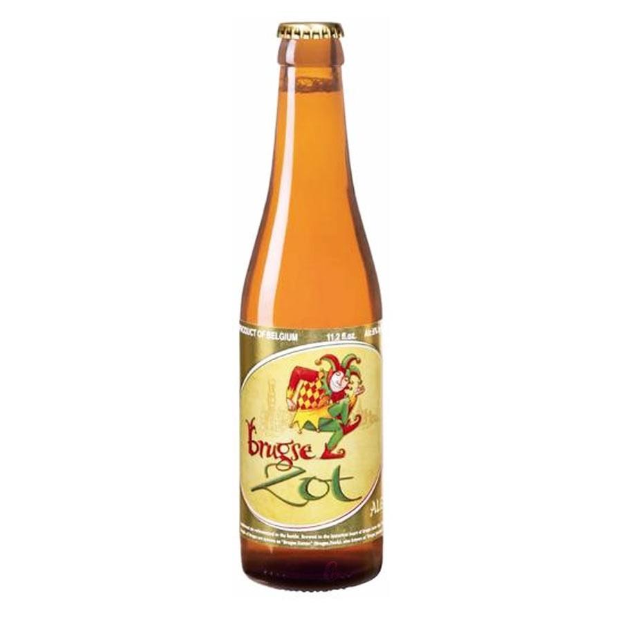 Bouteille de bière Brugse Zot blonde 6°