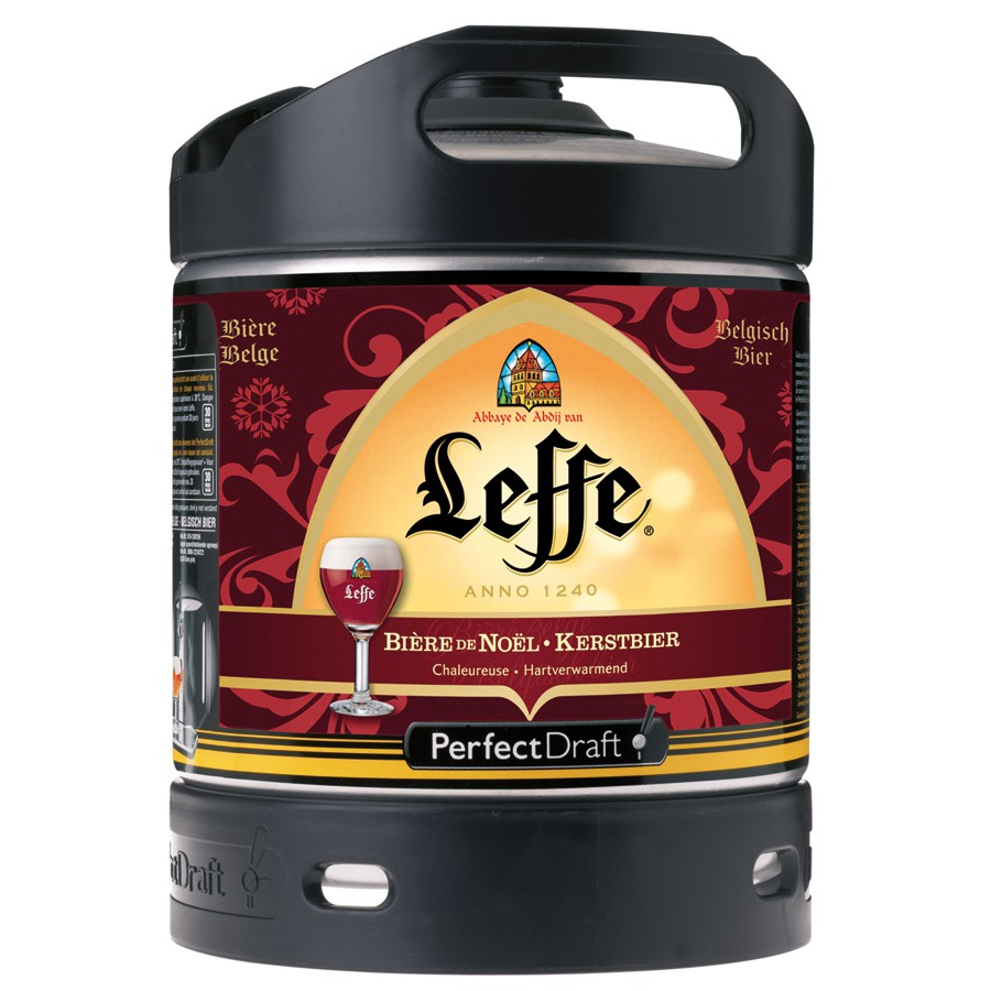 bi re leffe de no l 6 6 futs perfectdraft 6 litres. Black Bedroom Furniture Sets. Home Design Ideas