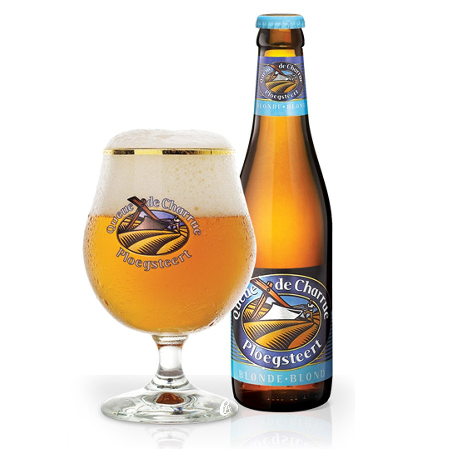 Bouteille de bière Queue de Charrue Blonde