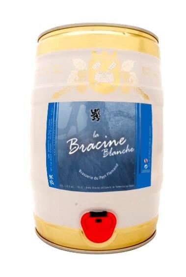 Fût 5L de bière blonde Bracine