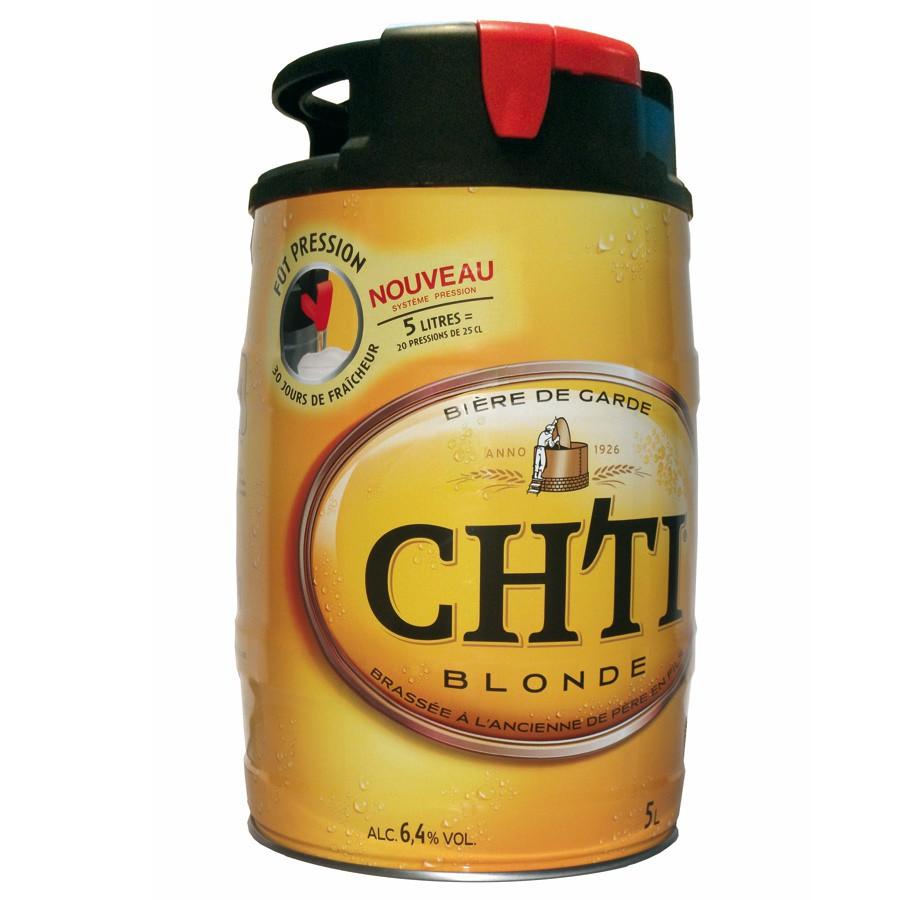 Fut de bière chti blonde