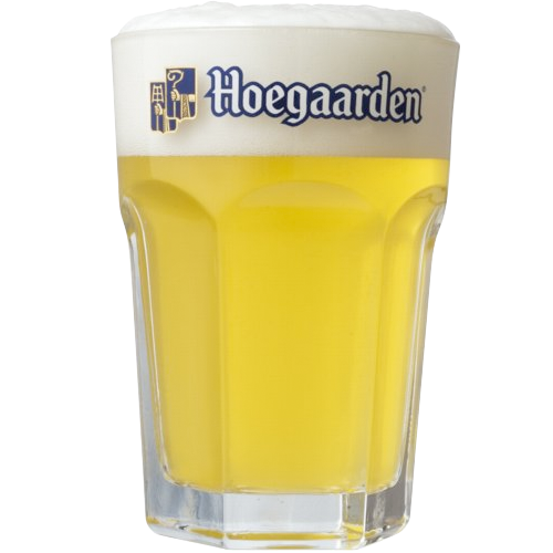 Verre bi re hoegaarden 25cl - Bureau en verre transparent ...