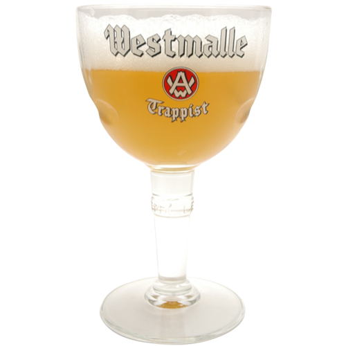 verre a biere Westmalle trappist 33cl