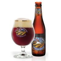 Bouteille de bière Queue de charrue brune
