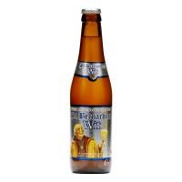 Bouteille de bière Saint Bernardus blanche