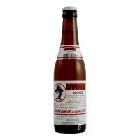 Bouteille de bière Livinus Blonde 10° (Bière)