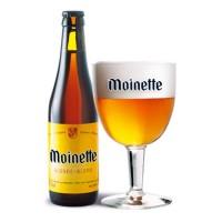 Bouteille de bière Moinette blonde 8,5°