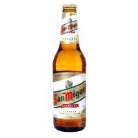Bouteille de bière San Miguel