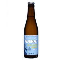 Bouteille de bière blanche Aubrac 4,5°