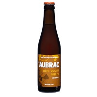 Bouteille de bière ambrée Aubrac 5°