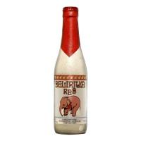 Bouteille de bière Delirium red 8.5°