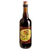 Bouteille de bière BRUGSE ZOT BRUNE 7.5°