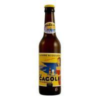 Bouteille de bière LA CAGOLE BLONDE 33CL 4.7° (Bière)
