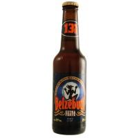 Bouteille de bière BELZEBUTH