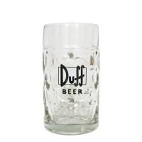 Verre à bière Duff Beer : chope 1 litre (Verrerie)