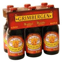Bière Grimbergen Double Brune (33cl - 6.5°)