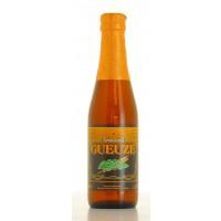 Bouteille de bière belge Lindemans Gueuze 25cl